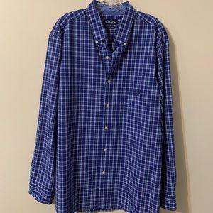 Chaps Men's Button Up Shirt, size: XL